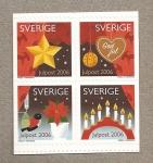 Stamps Sweden -  Navidades