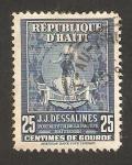 Sellos de America - Haití -  141 anivº de la muerte del emperador jean jacques dessalines