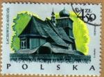 Sellos de Europa - Polonia -  Casa Tipicas LACHOWICE-KOSCIOL