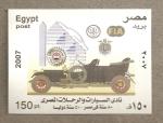 Sellos de Africa - Egipto -  Coche de época