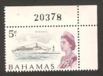 Stamps Bahamas -  Elizabeth II, paquebot Oceanic