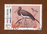 Stamps Spain -  1993. Cigüeña Negra