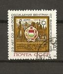 Stamps Russia -  25 aniversario de la liberacion de Hungria