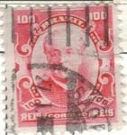 Sellos de America - Brasil -  BRASIL 1906 (RHM139) Alegorias Republicanas - 100r 2