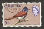 Sellos de Africa - Mauricio -  Elizabeth II, y coq des bois