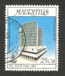 Sellos de Africa - Mauricio -  150 anivº del banco comercial de Mauricio