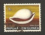 Sellos del Mundo : Oceania : Papúa_Nueva_Guinea : caracola ovula ovum