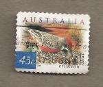 Sellos de Oceania - Australia -  Ave Epthianura tricolor