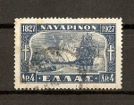 Stamps Europe - Greece -  Republica / Centenario de la Batalla de Navarin
