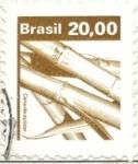 Sellos del Mundo : America : Bolivia :  BRASIL 1982 (RHM611) Cana de açucar 20