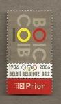 Stamps Belgium -  Aniversario Juegos Olímpicos