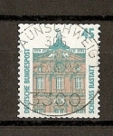Sellos de Europa - Alemania -  RFA  / Curiosidades /  Castillo de Rastatt