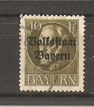 Stamps Europe - Germany -  Luis III - Sobrecargado.- Baviera.- Servicio.