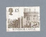 Stamps United Kingdom -  Castillo de Windsor