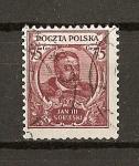 Sellos de Europa - Polonia -  3 Cent. del nacimiento de Jan III