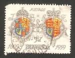 Stamps America - Bermuda -  350 anivº de la colonización de la isla