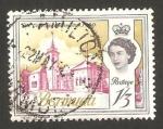 Stamps America - Bermuda -  elizabeth II, hotel de la ciudad de hamilton