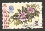 Stamps America - Bermuda -  flor de la pasión