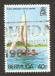 Stamps America - Bermuda -  navegando por los mares