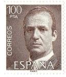 Stamps Europe - Spain -  Juan Carlos I 100 pts pta