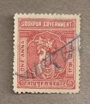Sellos de Asia - India -  Joohpur government