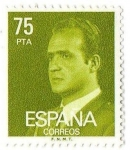 Sellos del Mundo : Europa : España : Juan Calos I 75 pts pta
