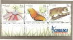 Stamps of the world : Costa Rica :  Flora y Fauna Parque Nacionales Costa Rica 2005