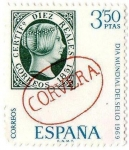 Sellos del Mundo : Europa : España : Dia Mundial Sello 1969 Corvera