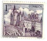 Sellos de Europa - España -  Alcázar de Segovia
