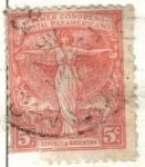 Sellos del Mundo : America : Argentina : ARGENTINA 1921 (263) Conmemoracion del Primer Congreso Postal Panamericano 5c 2