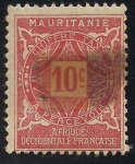 Stamps Africa - Mauritania -  Colonia Francesa