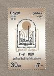Stamps Egypt -  Disco solar