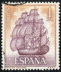Stamps Spain -  Barcos