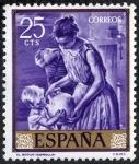 Stamps Spain -  Pintura