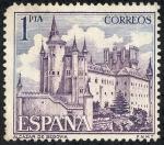 Sellos de Europa - España -  Edificios y monumentos