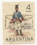 Stamps Argentina -  29 de Mayo Día del Ejército Patricios