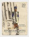 Stamps Argentina -  29 de Mayo Día del Ejército