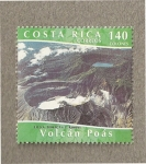 Stamps : America : Costa_Rica :  Volcan Poás