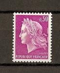 Sellos de Europa - Francia -  Republica de Cheffer / grabado