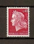 Stamps France -  Republica de Cheffer / grabado