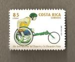 Stamps : America : Costa_Rica :  Año Internacional del Deporte