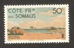 Stamps Africa - Djibouti -  Costa de Somalís - puesto de khor angar