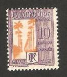 Sellos del Mundo : America : Guadeloupe : paseo dumanoir en capesterre