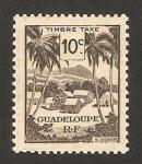 Sellos del Mundo : America : Guadeloupe : poblado