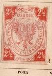 Sellos de Europa - Alemania -  Escudo Edicion1859