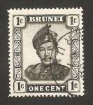 Stamps Asia - Brunei -  sultán omar ali saifuddin