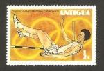 Stamps : America : Antigua_and_Barbuda :  Olimpiadas Montreal 76, salta de altura
