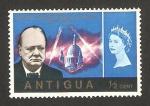 Stamps Antigua and Barbuda -  anivº de la muerte de sir winston churchill