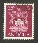 Sellos de America - Antigua y Barbuda -  escudo de armas