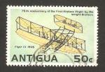 Stamps America - Antigua and Barbuda -  75 anivº del primer vuelo de los hermanos wright